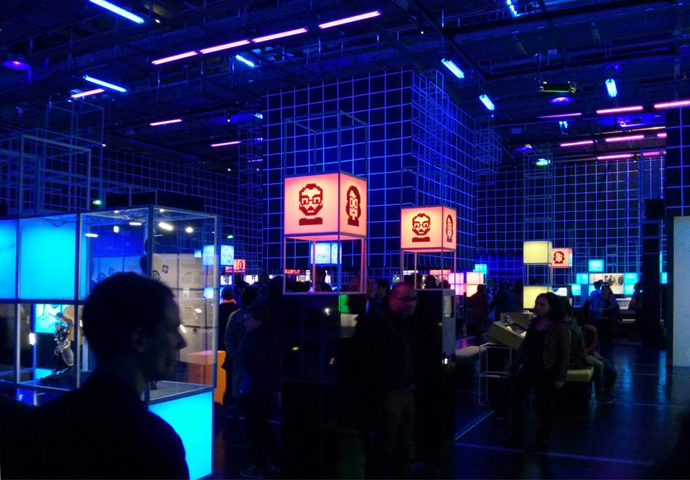 gameover expo jeux vidéo cité des sciences et de l'industrie